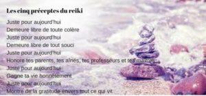 Préceptes du Reiki Usui